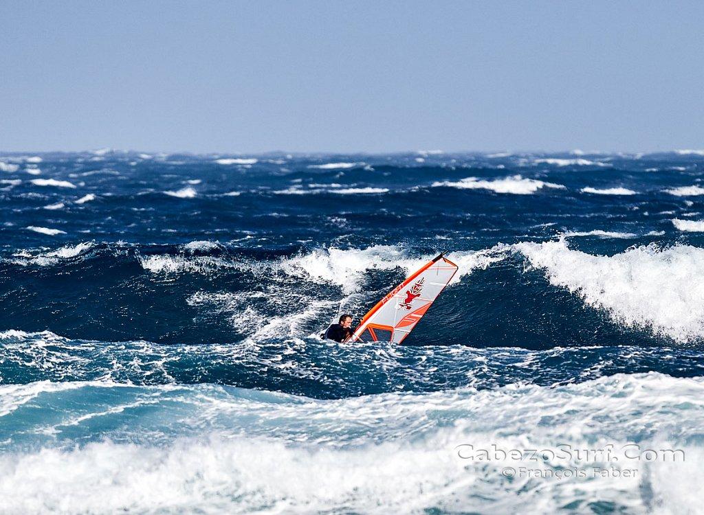 Epic windsurfing day El Medano, El Cabezo